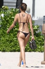 ISABELI FONTANA in Bikini in South Beach 10/22/2019