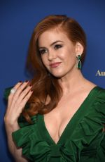 ISLA FISHER at 8th Annual Australians in Film Awards Gala & Benefit Dinner in Century City 10/23/2019