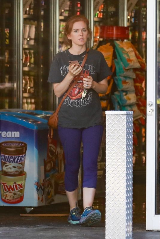 ISLA FISHER Out and About in Los Angeles 10/18/2019