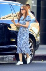 ISLA FISHER Out Shopping in West Hollywood 10/21/2019