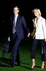 IVANKA TRUMP Returns to the White House in Washington D.C. 10/18/2019