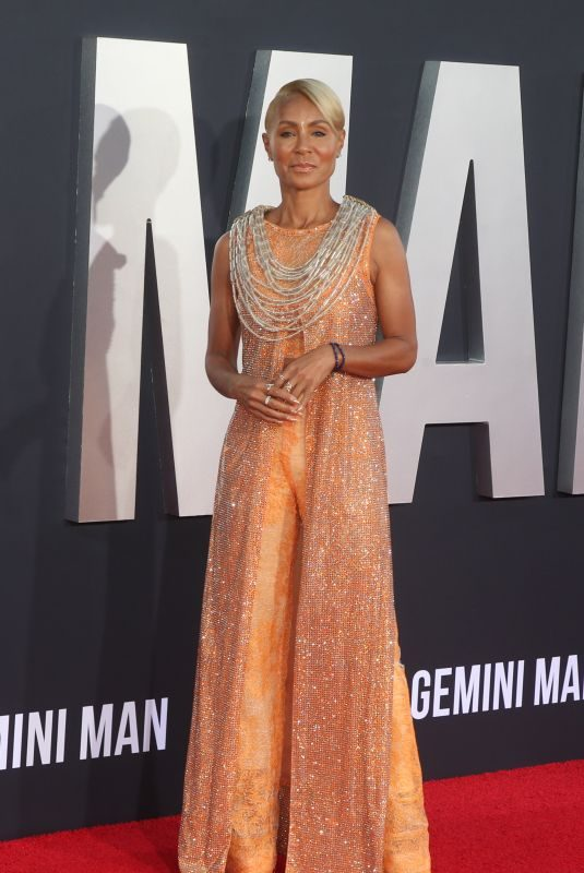 JADA PINKETT SMITH at Gemini Man Premiere in Los Angeles 10/06/2019