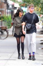 JAMEELA JAMIL and James Blake Out in New York 10/01/2019