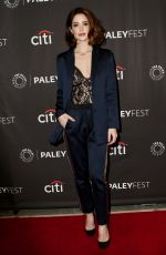 JANET MONTGOMERY at New Amsterdam Panel at Paleyfest in New York 10/15/2019
