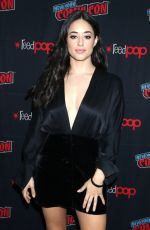 JEANINE MASON at Roswell, New Mexico Panel at 2019 New York Comic Con 10/06/2019