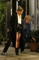 JENNIFER LOPEZ and Owen Wilson on the Set of Marry Me in Brooklyn 10/11/2019