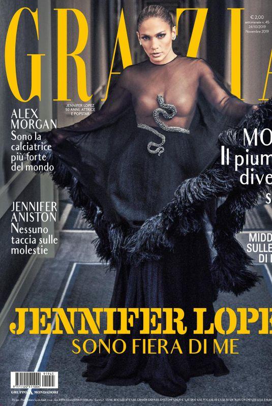 JENNIFER LOPEZ in Grazia Magazine, Italy October 2019
