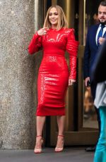 JENNIFER LOPEZ on the Set of Marry Me in New York 10/02/2019