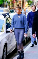 JENNIFER LOPEZ Out Shopping in New York 10/19/2019