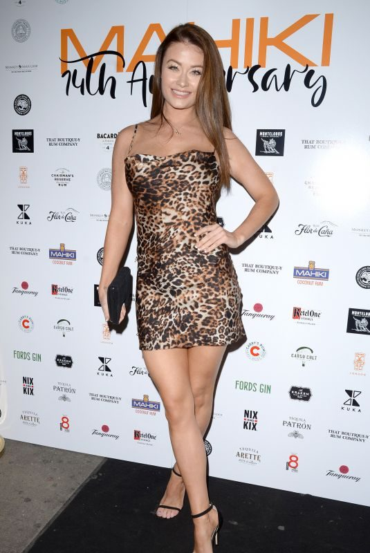 JESS IMPIAZZI at Mahiki 14th Birthday Party in London 10/02/2019
