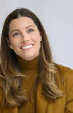 JESSICA BIEL at Limetown Press Conference in Beverly Hlls 10/14/2019