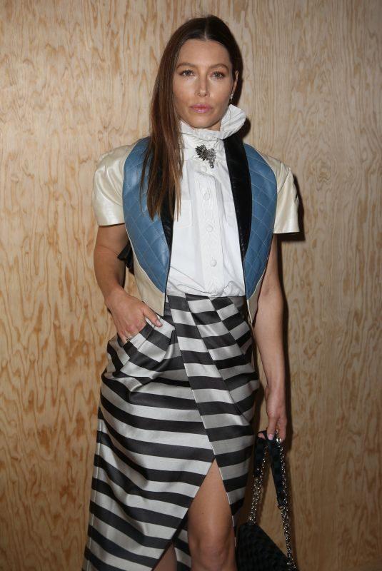JESSICA BIEL at Louis Vuitton Fashion Show in Paris 10/01/2019