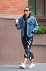 JESSICA BIEL Out in New York 10/22/2019