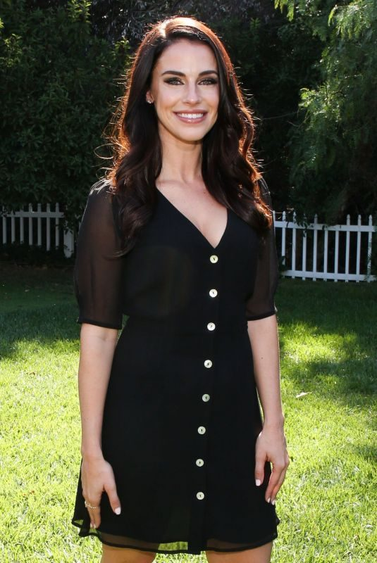 JESSICA LOWNDES at Hallmark's Home & Family 10/01/2019