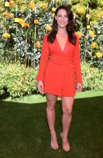 JESSICA LOWNDES at Veuve Clicquot Polo Classic at Will Rogers State Park in Los Angeles 10/05/2019