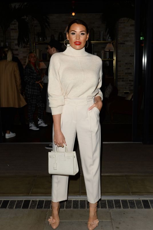 JESSICA WRIGHT at Stacey Solomon x Primark Collaboration Party in London 10/10/2019