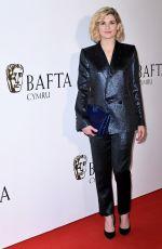 JODIE WHITTAKER at British Academy Cymru Awards in Cardiff 10/13/2019