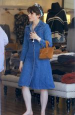 JOEY KING Out Shopping in Los Angeles 10/07/2019