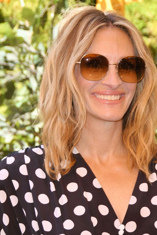JULIA ROBERTS at Veuve Clicquot Polo Classic at Will Rogers State Park in Los Angeles 10/05/2019