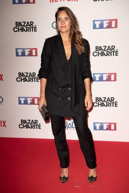 JULIE DE BONA at Le Bazar De La Charite Premiere in Paris 09/30/2019