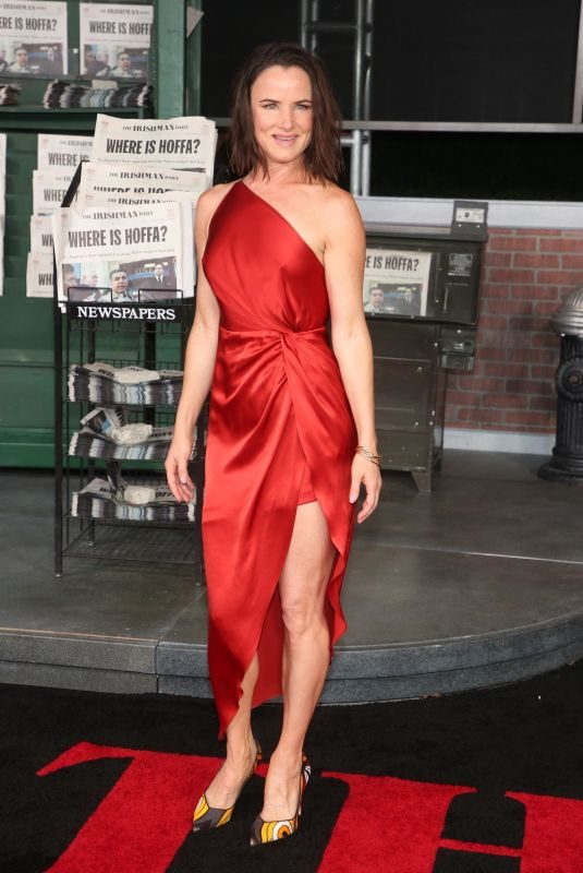 JULIETTE LEWIS at The Irishman Premiere in Hollywood 10/24/2019