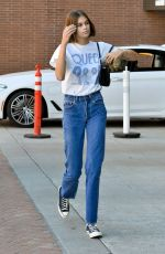 KAIA GERBER Arrives at a Medical Building in Beverly Hills 10/15/2019