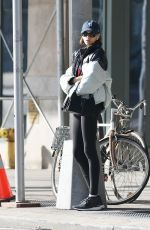 KAIA GERBER Leaves a Gym in New York 10/26/2019