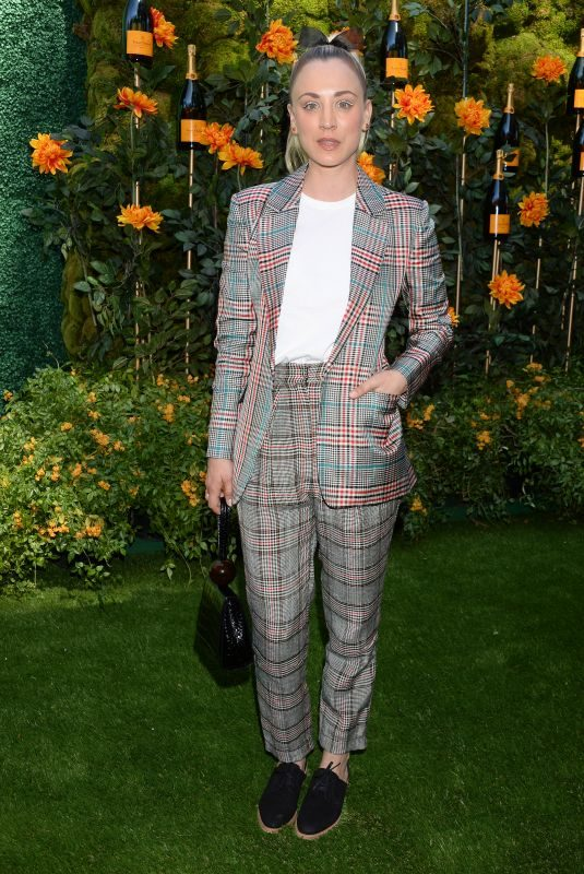 KALEY CUOCO at Veuve Clicquot Polo Classic at Will Rogers State Park in Los Angeles 10/05/2019