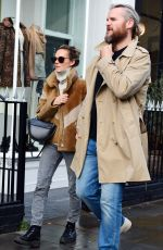 KARA TOINTON and Dr Marius Jansen Out for Lunch in Notting Hill 10/17/2019