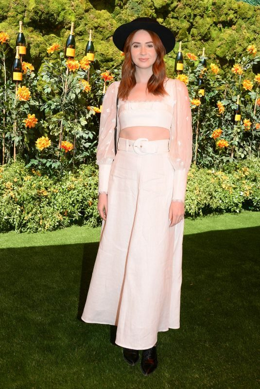KAREN GILLAN at Veuve Clicquot Polo Classic at Will Rogers State Park in Los Angeles 10/05/2019