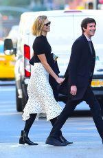 KARLIE KLOSS and Josh Kushner Out in New York 10/21/2019