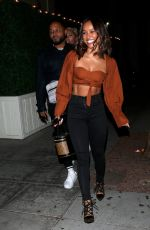 KARRUECHE TRAN and DRAYA MICHELE oUT in Los Angeles 10/03/2019