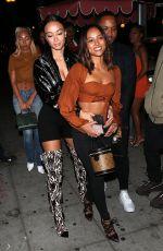 KARRUECHE TRAN Leaves Delilah in West Hollywood 10/03/2019