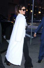 KATE BECKINSALE Arrives at Good Morning America in New York 10/22/2019