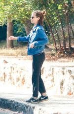 KATE MARA Out at Griffith Park in Los Feliz 10/14/2019