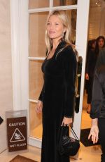 KATE MOSS at The Dior Sessions: Dior Men by Kim Jones Book Launch in London 10/01/2019