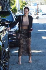 KATHARINE MCPHEE Out and About in West Hollywood 10/07/2019
