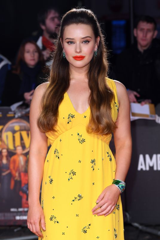 KATHERINE LANGFORD at Knives Out Premiere at 63rd BFI London Film Festival 10/08/2019