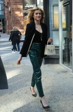 KATHERINE MCNAMARA Arrives at AOL Build Studios in New York 10/18/2019