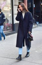 KATIE HOLMES Out in New York 10/15/2019