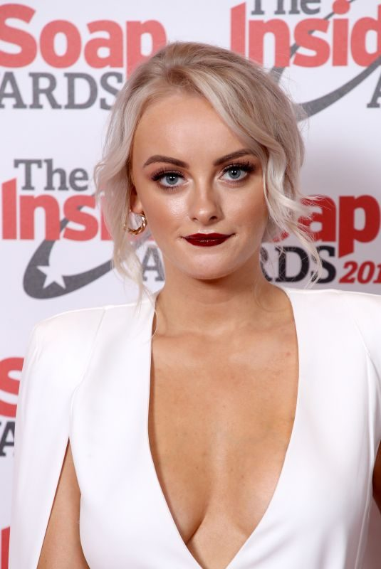 KATIE MCGLYNN at Inside Soap Awards 2019 in London 10/07/2019