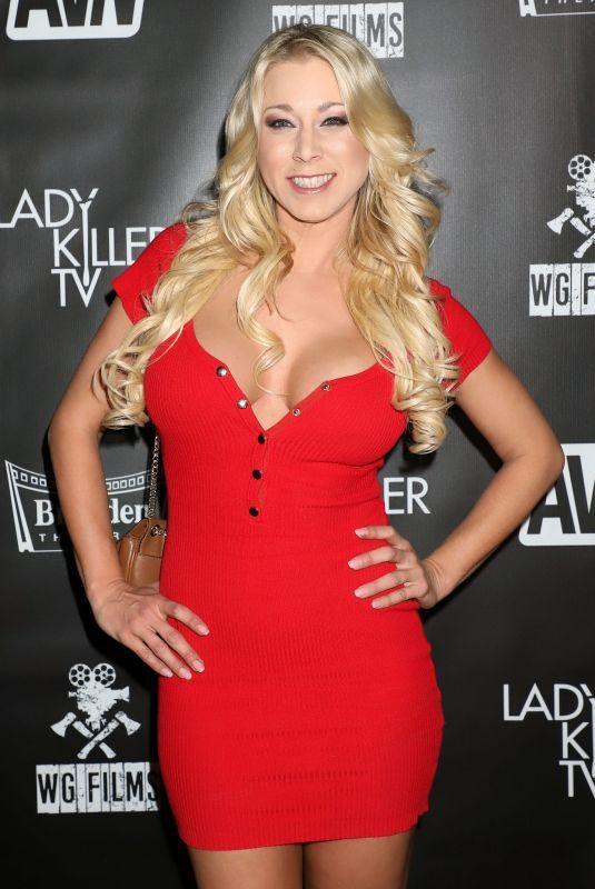 KATIE MORGAN at Ladykiller Premiere in Las Vegas 10/23/2019