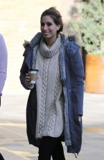 KAYE ADAMS and STACEY SOLOMON at ITV Studios in London 10/18/2019