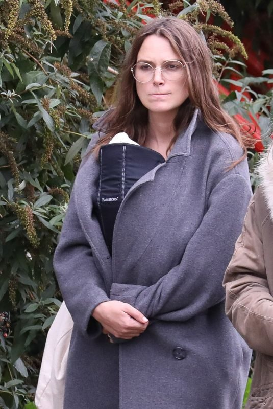 KEIRA KNIGHTLEY Out and About in London 10/14/2019