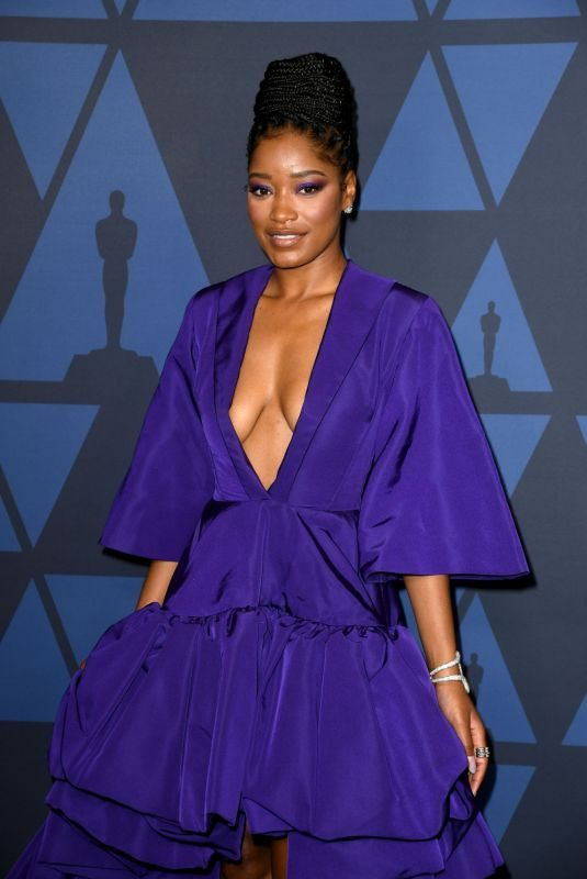 KEKE PALMER at AMPAS 11th Annual Governors Awards in Hollywood 10/27/2019