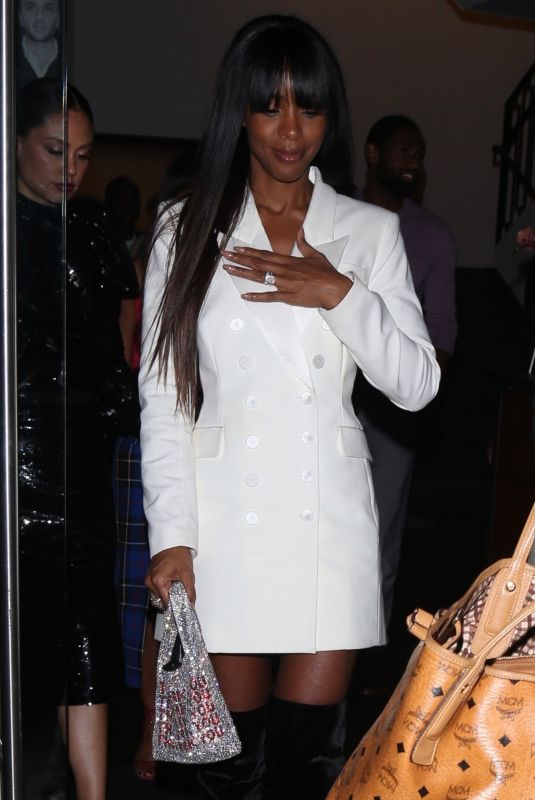 KELLY ROWLAND at Catch LA in West Hollywood 10/22/2019