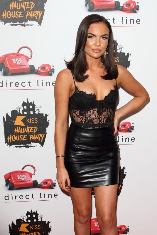 KELSEY STRATFORD at Kiss Haunted House Party in London 10/25/2019