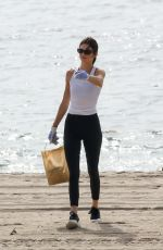 KENDALL JENNER at Heal the Bay Clean Up Beaches in Malibu 10/09/2019
