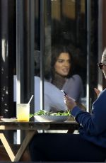 KENDALL JENNER Out for Lunch at Croft in West Hollywood 10/29/2019