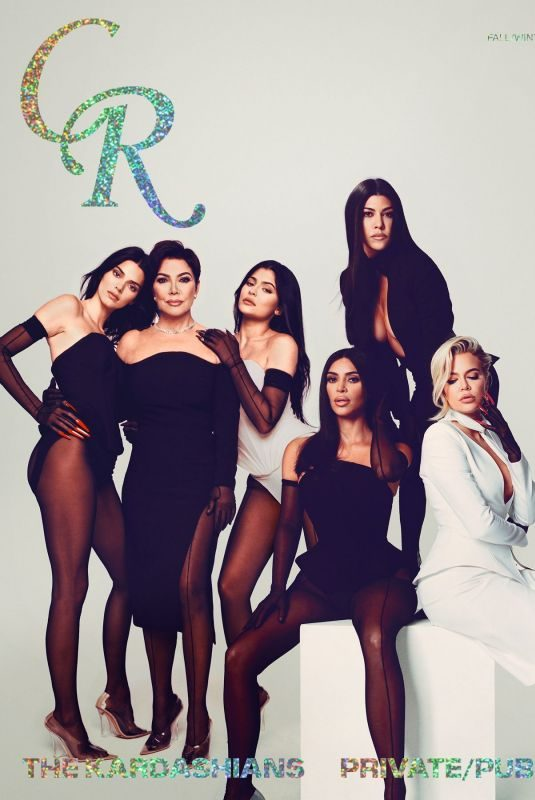 KENDALL, KYLIE and KRISS JENNER and KIM, KHLOE and KOURTNEY KARDASHIAN for CR Fashion Book, Issue 15 Fall/Winter 2019